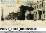 Business District, Boonville, Indiana