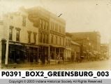West Side of the Square, Greensburg, Indiana