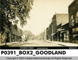Business Street, Goodland, Indiana