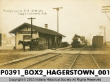 Pennsylvania Railroad Station, Hagerstown, Indiana