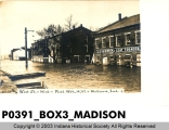 Flood in Madison, Indiana