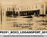 Chicago Life Saving Boat, Logansport, Indiana