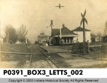 Letts Corner Railroad Station, Letts Corner, Indiana