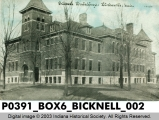 School Building, Bicknell, Indiana