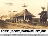 Big Four Station, Fairmont, Indiana