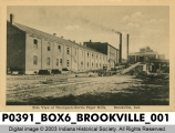 Side View of Thompson-Norris Paper Mills, Brookville, Indiana