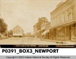 North Side of the Square, Newport, Indiana