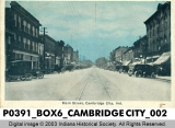Main Street, Cambridge City, Indiana