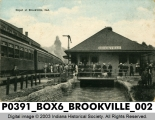 Depot at Brookville, Indiana