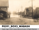 Flood, 1913, Wabash, Indiana