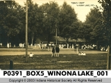 Tennis Court, Winona Lake, Indiana
