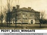 Public School, Wingate, Indiana