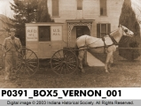 Mail Wagon, Vernon, Indiana