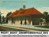 Big Four Depot, Crawfordsville, Indiana