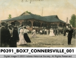 Pavilion on Fair Grounds, Connersville, Indiana