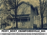 Home of Gen. Lew Wallace, Crawfordsville, Indiana