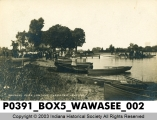Oakwood Park Landing, Wawasee Lake, Indiana