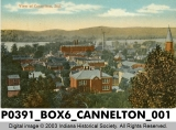 View of Cannelton, Indiana