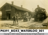 Waterloo Station, Waterloo, Indiana.