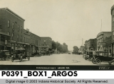 Business Street, Argos, Indiana
