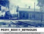 Just Arrived at Union Depot, Reynolds, Indiana