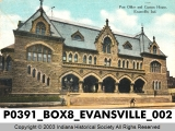 Post Office and Custom House, Evansville, Indiana