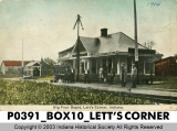 Big Four Depot, Lett's Corner, Indiana