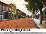 Center Street, Looking North, Flora, Indiana