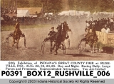 Harness Racing at the Rush County Fair