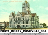 Rush County Court House, Rushville, Indiana
