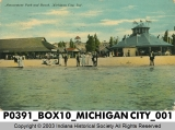 Amusement Park and Beach, Michigan City, Indiana