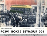 First Interurban Car into Seymour, Indiana