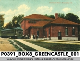 Interurban Station, Greencastle, Indiana