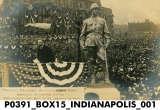 President Theodore Roosevelt at the Unveiling of the Lawton Statue, May 3, 1907, in Indianapolis, Indiana