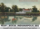 Boating at Riverside Park, Indianapolis, Indiana