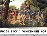 Council of Governor Harrison and Tecumseh at Vincennes, Indiana, 1809