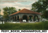 Military Park - Summer House, Indianapolis, Indiana