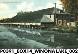 Boat House, Winona Lake, Indiana
