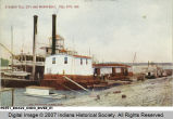 Steamer Tell City and Wharf-Boat, Tell City, Ind.