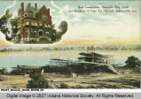 Boat Construction, Howard's Ship Yards and Residence of Capt. Ed. Howard, Jeffersonville, Ind.