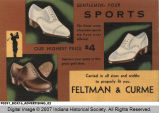 Feltman & Curme Shoe Store Advertisement