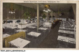 Dining Room at White's Restaurant, 34-36 Circle, Indianapolis, Indiana