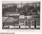Birdseye View of Central Part of Rensselaer, Looking North From Courthouse Tower