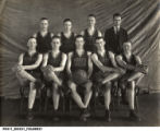 North Salem, Indiana, High School Boys' Basketball Team in 1923