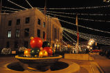 Hendricks County Courthouse at Christmas