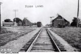 Rose Lawn, Indiana Railroad Depot and Tracks