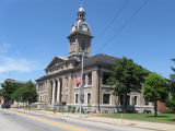 Franklin County, Indiana Courthouse 2009