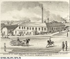Building of Flint, Walling & Company, Founders, Machinists & Manufacturers of Agricultural Implements.