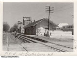 Pennsylvania Railroad Depot, Scottsburg, Indiana