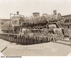 Roundhouse Repair Crew for the Pennsylvania and Erie Railroads, Indianapolis, Indiana